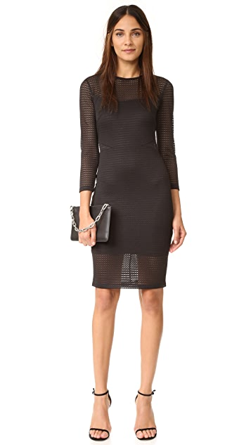 Ali & Jay Textured Cutout Dress