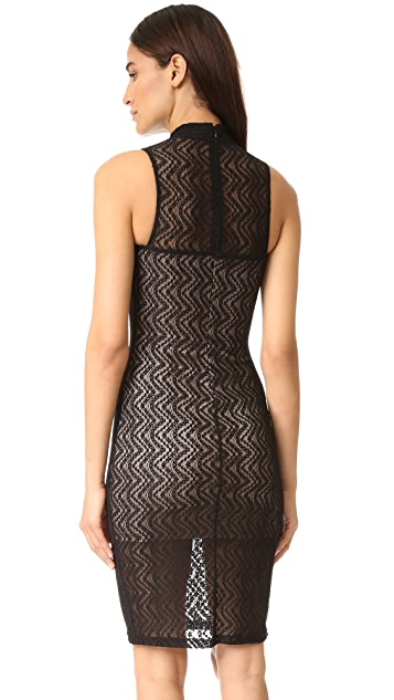 Ali & Jay Scallop Lace Dress