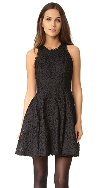 Ali & Jay Textured Lace Racer Back Dress