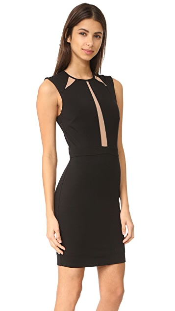 Ali & Jay Mini Dress with Mesh Insets