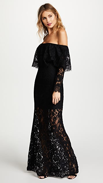 Ali & Jay Soiree Gown - Black