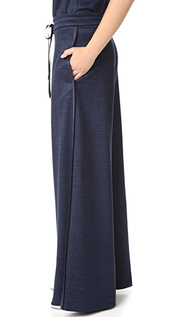 Adam Lippes Wide Leg Drawstring Pants