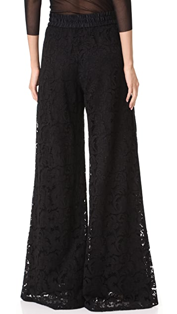 Adam Lippes Wide Leg Drawstring Pants