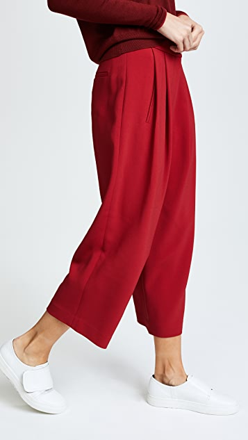 Adam Lippes Pleat Front Culottes