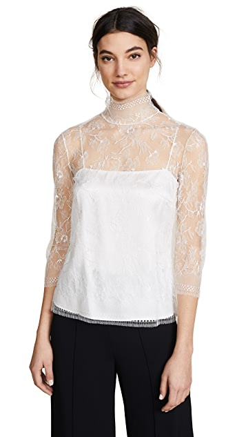 Adam Lippes Lace Blouse
