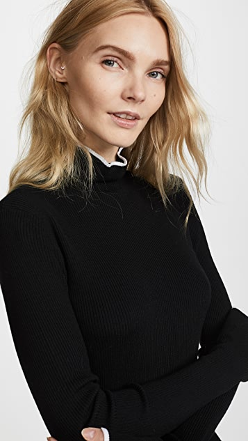Adam Lippes Double Face Turtleneck