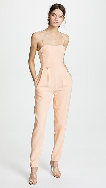 bustier jumpsuit