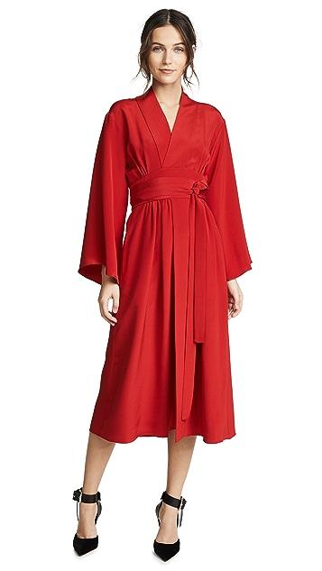 Adam Lippes Kimono Dress with Belt