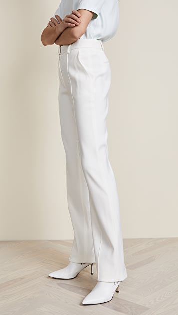 Adam Lippes Tuxedo Wool Pants
