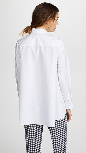 Adam Lippes Trapeze Button Down Shirt