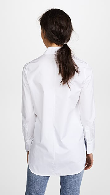 Adam Lippes Long Sleeve Dress Shirt