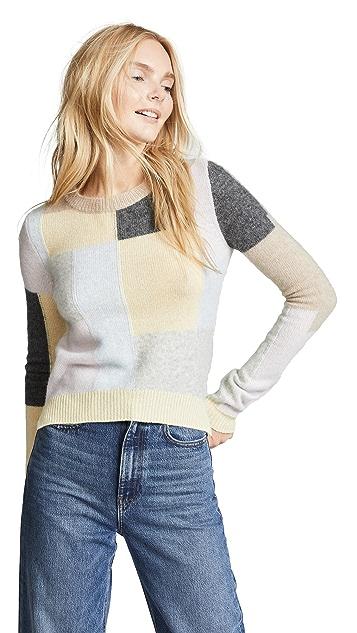 Adam Lippes Cashmere Patchwork Sweater