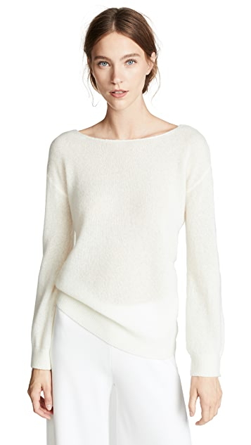 Adam Lippes Boat Neck Cashmere Sweater