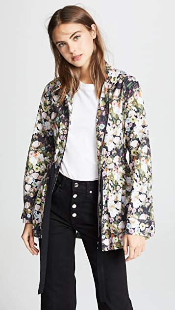 Adam Lippes Anorak with Side Ties