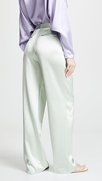 Adam Lippes Pleat Front Trousers