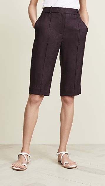 Adam Lippes Stretch Canvas Bermuda Shorts
