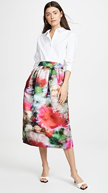 Adam Lippes Midi Ball Skirt