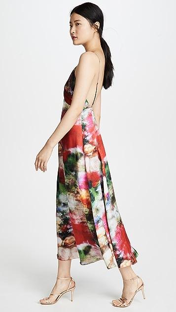 Adam Lippes Hammered Silk Cami Dress