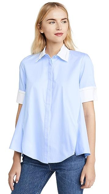 Adam Lippes Trapeze Shirt