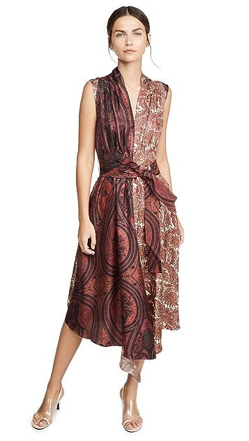 Adam Lippes Асимметричное платье