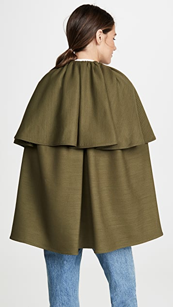 Adam Lippes Tiered Cape