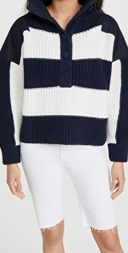 Adam Lippes - Oversized Henley Sweater