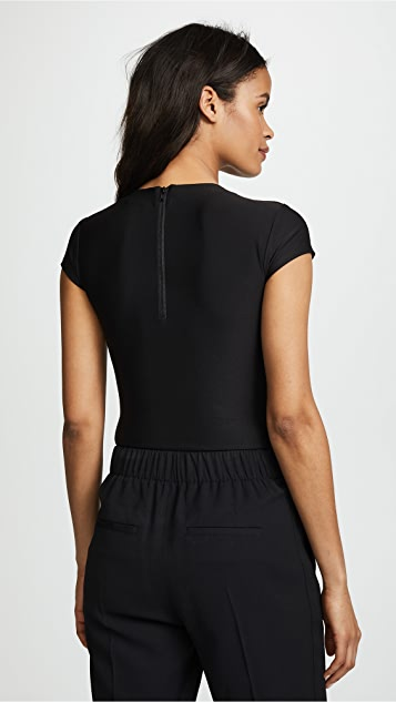 Alix Classic Collection Mulberry Thong Bodysuit