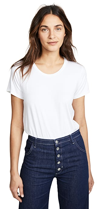 Alix Essex Tee Bodysuit - White