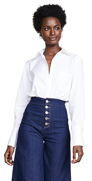 Alix Howard Thong Bodysuit - White