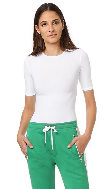 Alix Arden Thong Bodysuit - White