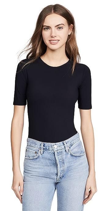 Alix Arden Thong Bodysuit - Black