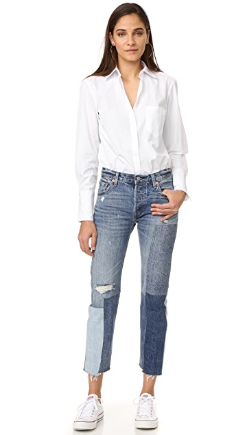 Alix Howard Button Down Bodysuit