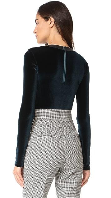 Alix Carlisle Thong Bodysuit