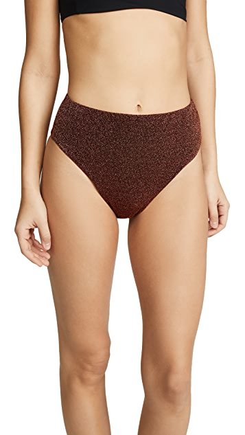 Alix Alton Glitter Bikini Bottoms