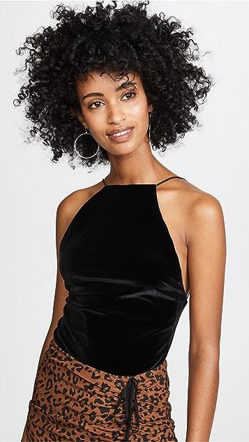Alix Dyer Velvet Bodysuit