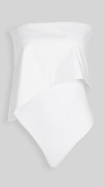 Alix Hollis Thong Bodysuit