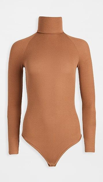 Alix Varick Thong Bodysuit
