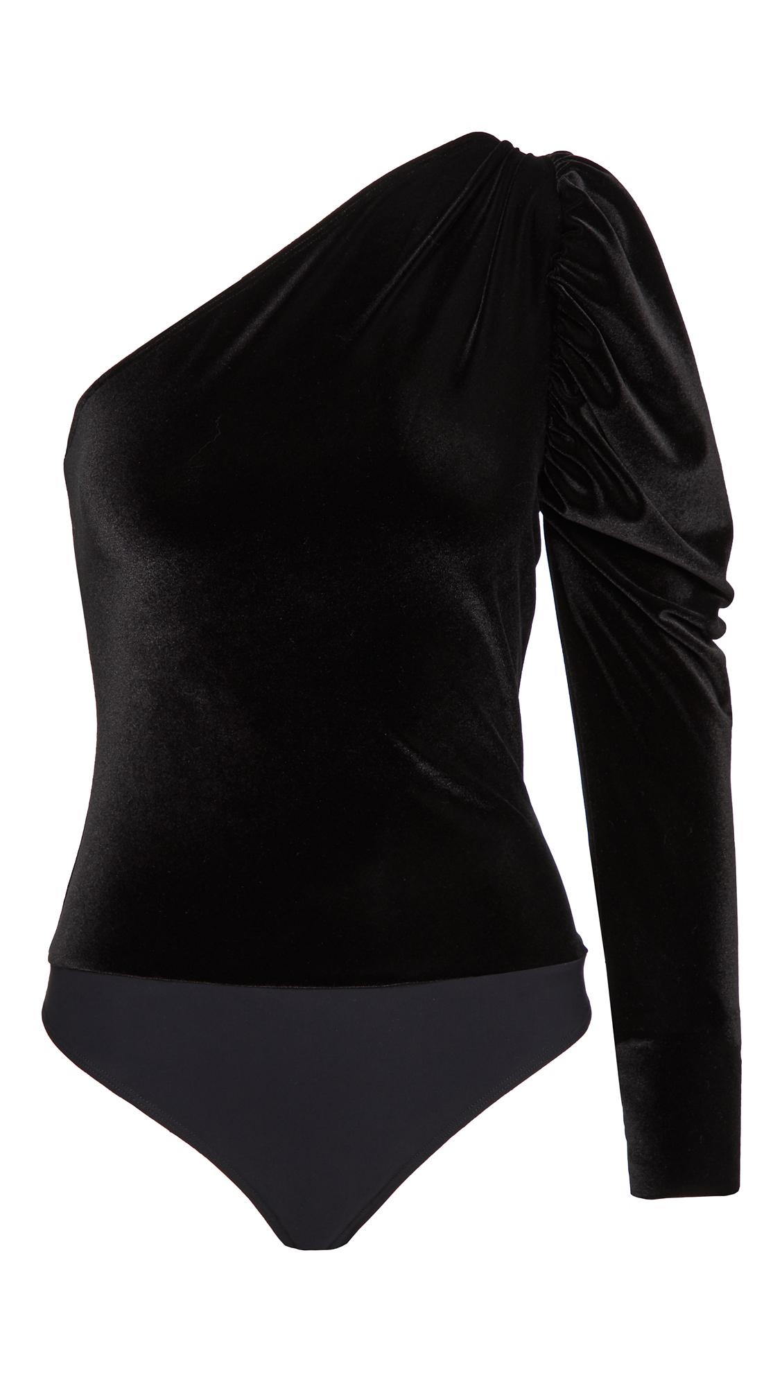 Alix Dakota Velvet Bodysuit