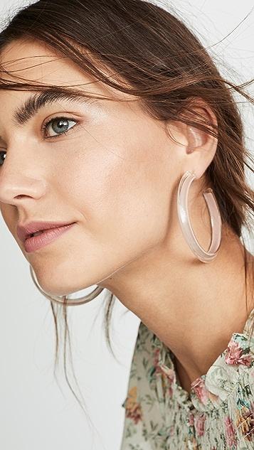 Alison Lou 中号果冻圈式耳环