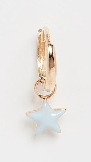 Alison Lou 14K 小巧星星贴耳耳环