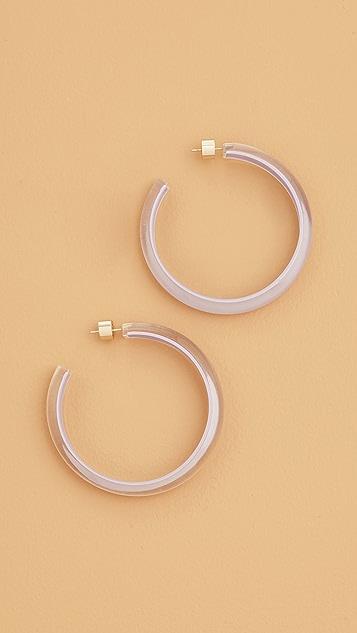 Alison Lou Medium Jelly Hoop Earrings