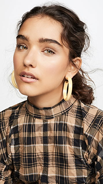 Alison Lou Medium Jelly Hoop Earrings