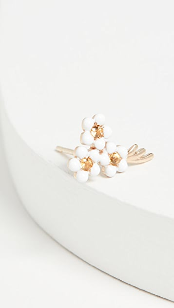 Alison Lou 14k Bouquet of Flowers Stud