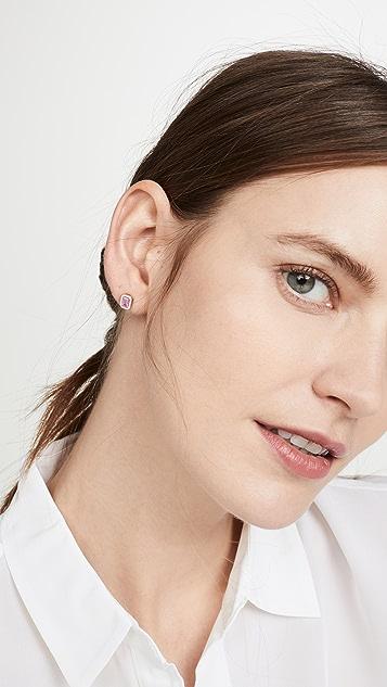 Alison Lou 14k 珐琅堆叠耳钉