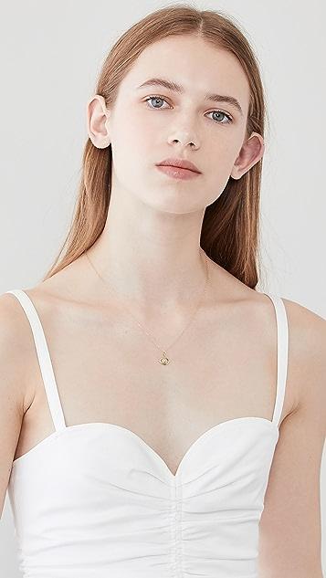 Alison Lou 邪恶眼睛饰物项链