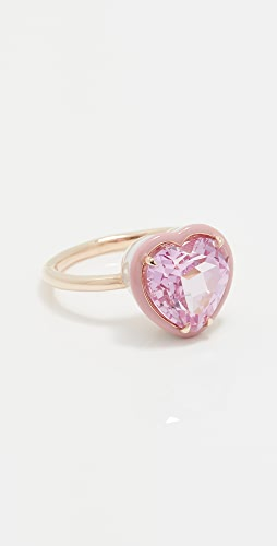 Alison Lou - Heart Shaped Cocktail Ring