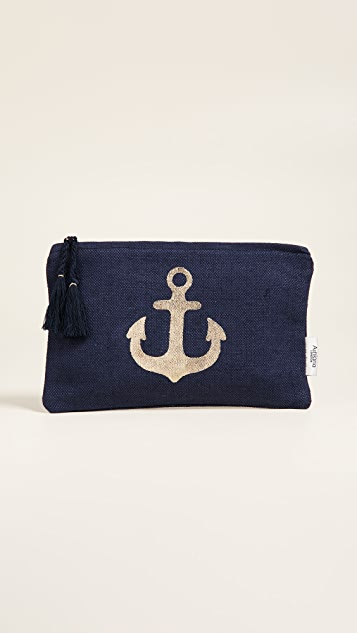 Ashiana London Gold Anchor Pouch