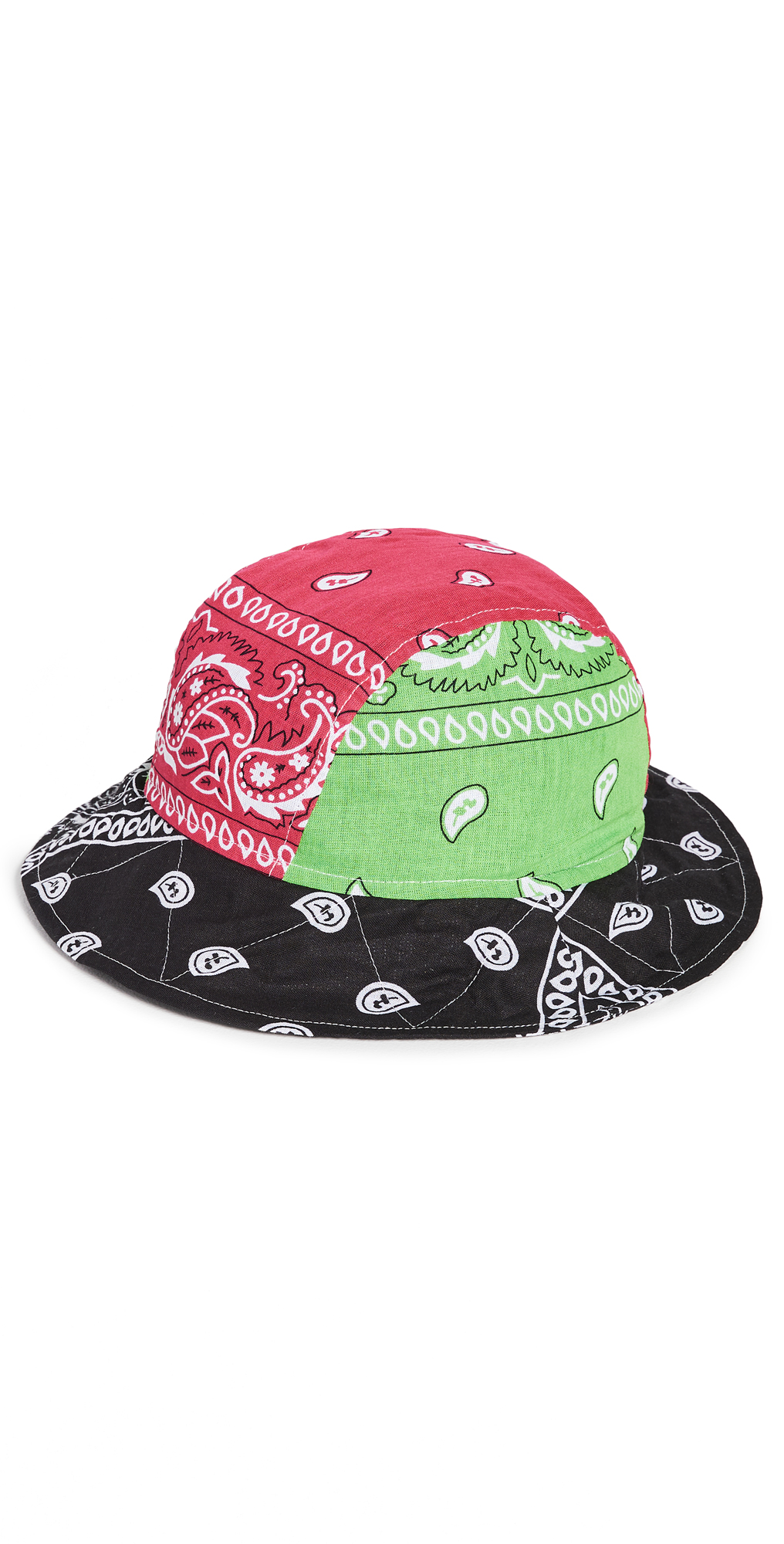 Arizona Love Bandana Bob Mixed Green Bucket Hat