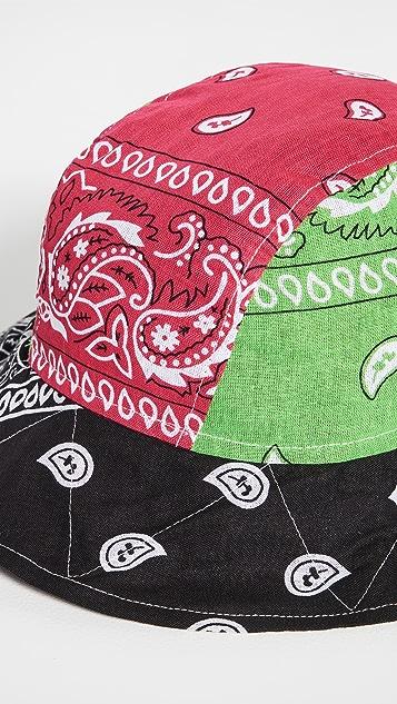 Arizona Love 大手帕混合绿色渔夫帽