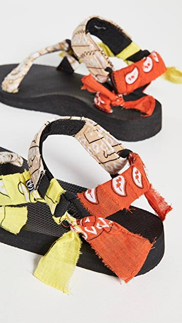 Arizona Love Trekky Bandana Sandals